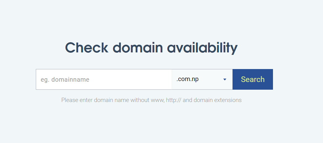 .com.np Domain Registration in Nepal